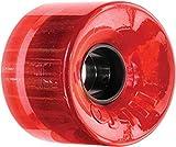 OJ Wheels III Hot Juice Trans Red Longboard Wheels - 60mm 78a (Set of 4)