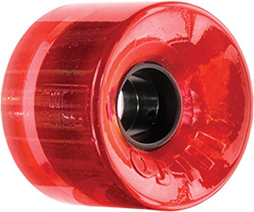 OJ Wheels III Hot Juice Trans Red Longboard Wheels - 60mm 78a (Set of 4) by OJ Wheels