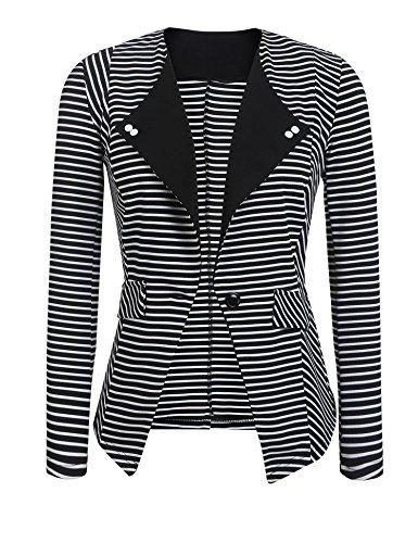 SE MIU Women's Casual Work Office Blazer Jacket Made In USA PAT1 - Miu Miu Usa