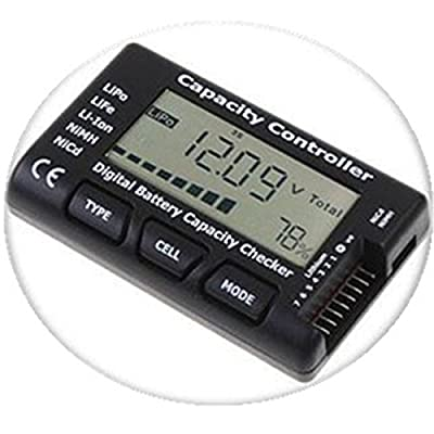 Merssavo Smart Digital Battery Capacity Checker Indicator Volt Tester