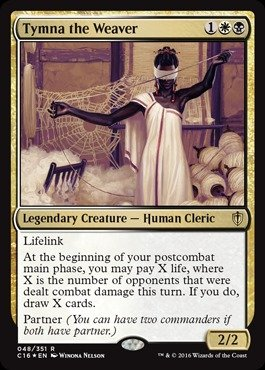 Magic: the Gathering - Tymna the Weaver (048/351) - Commander 2016 - (048 Magic)