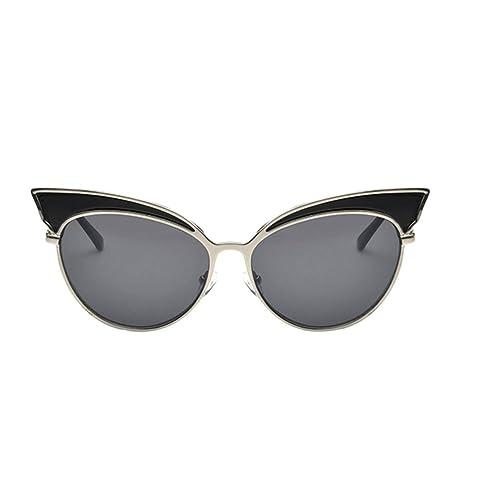 Zhuhaixmy Gafas de sol del ojo de gato Gafas de sol atractivas retras del ojo del gato de la tendenc...