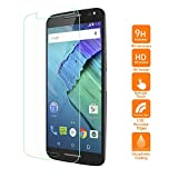 Moto X Pure Edition Screen Protector, UrSpeedtekLive 0.26mm Ultra-thin (HD) Clear Tempered Glass Screen Protector for Motorola Moto X Pure Edition