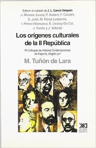 Orígenes culturales de la II República (Historia): Amazon.es ...