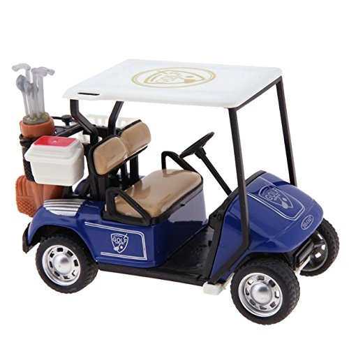 Golf Collection (YINYINYE 1:36 Scale Alloy Pull Back Model Car High Simulation Golf Cart Model Diecast Baby Kids Collection Toy Vehicle Car Red)