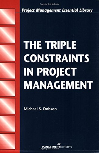 The Triple Constraints In Project Management  Project Management Essential Library