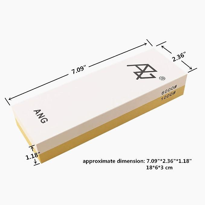 ANG® 1000/6000 - Piedra de afilar con combinación de arena y ...
