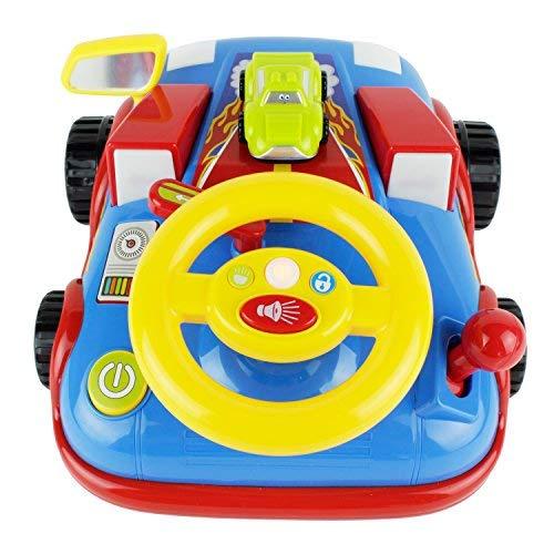 BOLEY Toys Kid's Mega Race Car Truck w/ Racer Flames - Inter