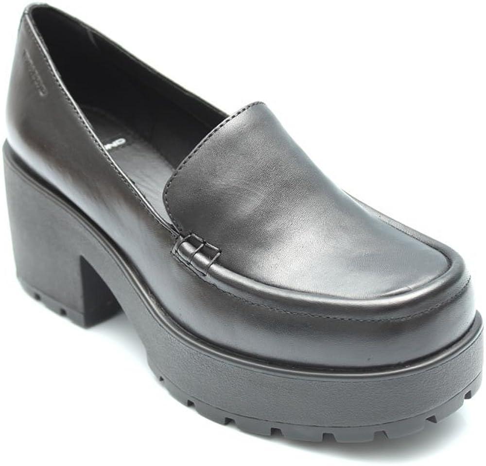 Leather Platform Loafers Shoes Size Uk