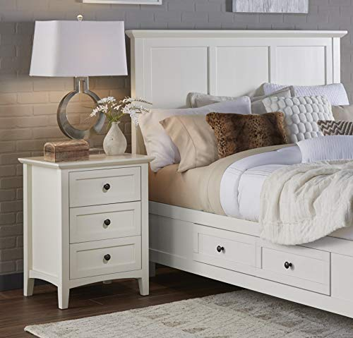 Modus Furniture 4NA481 Paragon Nightstand, White from Modus