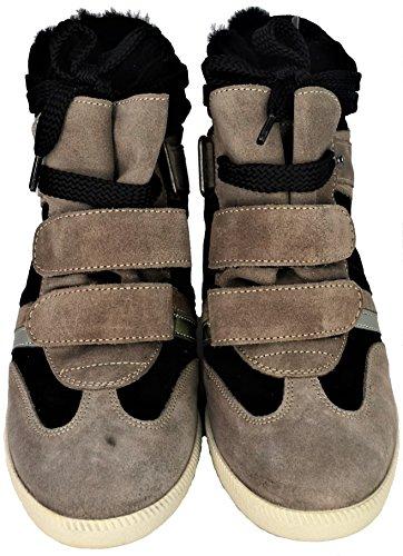 Sneaker Taupè Zeppa Serafini Balck Woman Scarpa 39 Donna Nero WRwFSg