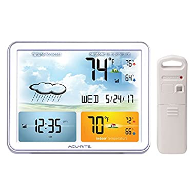 AcuRite 02081M Weather Station with Jumbo Display & Atomic Clock