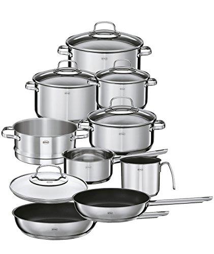 (Rösle Elegance Stainless Steel Cookware Set, 10 Piece)