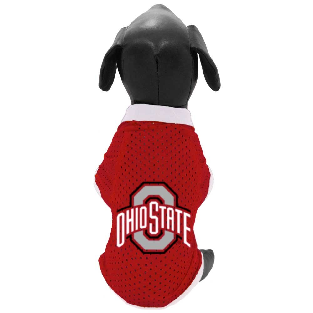 NCAA Ohio State Buckeyes Athletic Mesh Dog Jersey