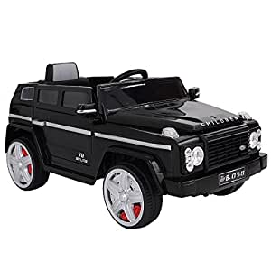 12V MP3 Kids Ride On Car Battery Power Wheels RC Remote Control w/ LED Lights + FREE E - Book