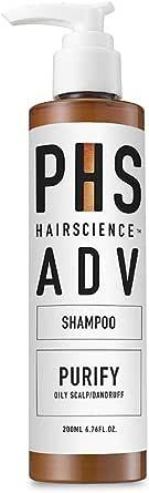 PHS HAIRSCIENCE ADV Purify Shampoo, 200 milliliters
