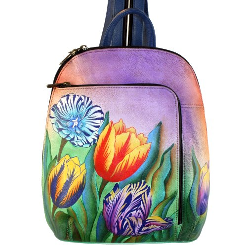anuschka-hand-painted-genuine-leather-sling-over-travel-backpack-turkish-tulips