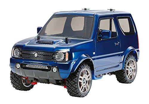 TAMIYA 1/10 Electric RC Car Series No.621 Suzuki Jimny (JB23) Painted Metallic Blue Body (MF-01 Chassis) 58621