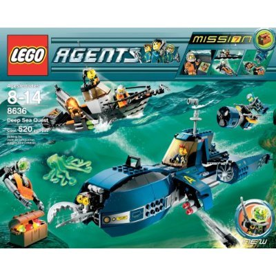 Lego Agents Limited Edition Exclusive Set #8636 Mission 7: Deep Sea Quest ()