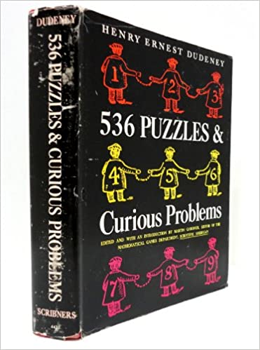 For 2 Many Years Self Taught Mathematician Henry E Dudeney Wrote A Puzzle Web Page Perplexities The Strand Magazine