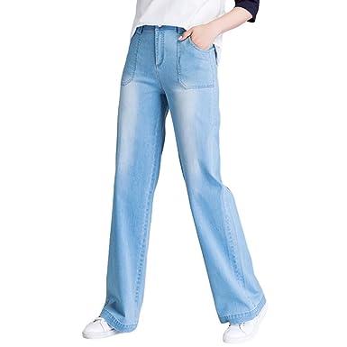 Xinwcanga Mujer Pantalones Vaqueros Flojos Tallas Grandes ...