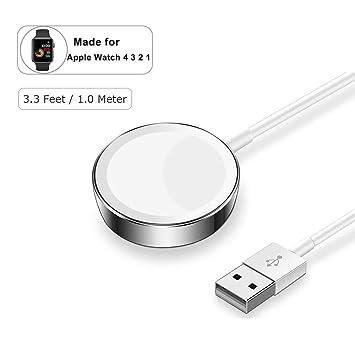 lifeicomall - Cargador para Apple Watch, Cable de Carga de ...