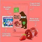 BEAR Real Fruit Snack Rolls - Gluten