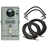 MXR M-135 Smart Gate Noise Gate Pedal with 4 Free Cables!