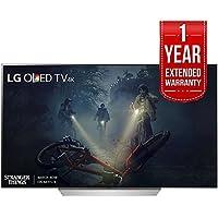 LG OLED55C7P - 55 C7P OLED 4K HDR Smart TV (2017 Model) + Extended 1 Year Warranty Bundle