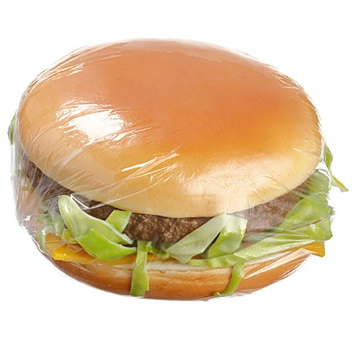 3.75'' Artificial Cheeseburger -Brown (pack of 12) by SilksAreForever
