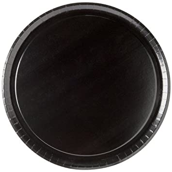 Solut 74557 SBS Paper Take-and-Bake Pizza Tray, 17 Diameter, Black, for 16 Pizza Case of 150