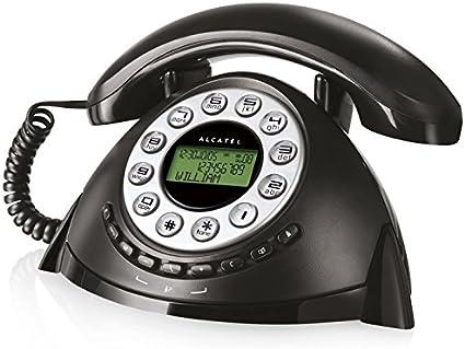 Alcatel Retro - Teléfono fijo: Amazon.es: Electrónica