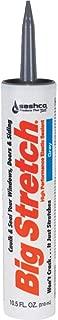 product image for Sashco 10010 100 Percent Acrylic Latex Big Stretch High Performance Caulk, 10.5oz Cartridge, Gray (Case of 12)