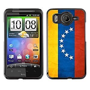 Shell-Star ( National Flag Series-Venezuela ) Snap On Hard Protective Case For HTC Desire HD / Inspire 4G