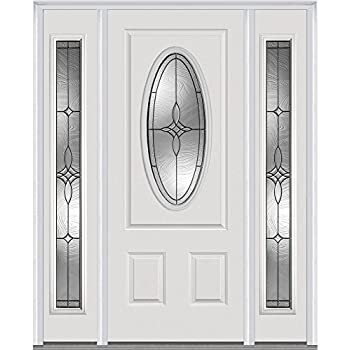 M580e 30x802 Right Hand Swingin Exterior Front Entry Double Door