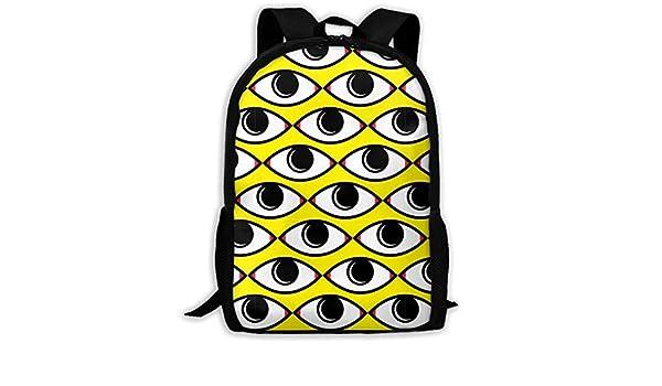 00bb78c6f644 Amazon.com : TAOHJS106 Abstract Eye Pattern Waterproof Adult ...