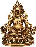 Kubera (God of Wealth) - Brass Statue