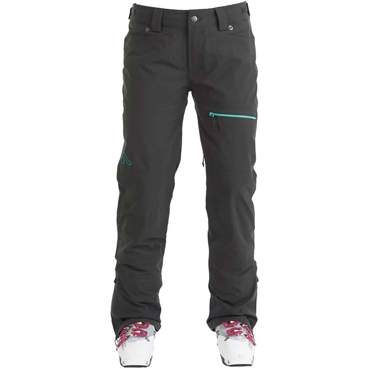 Flylow Sassyfrass Pant – Women 's B073XB3SF3 Small|ブラック ブラック Small
