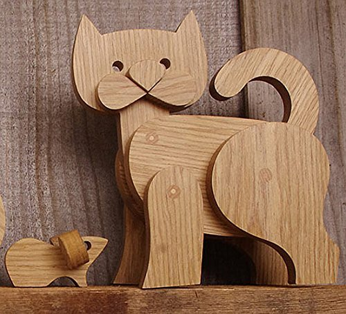 CAT - GATO - CLASSIQUE, EXCLUSIVE AND LUXURY HANDMADE WOODEN ...