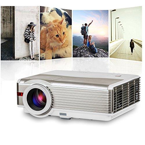 EUG Home Cinema 4200 Lumens 1080p, Hdmi USB Tv Input, LCD...