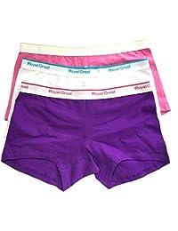 Ladies Boxers 3 Pack- Medium