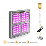 MARS HYDRO Led Grow Light Full Spectrum for Indoor Plants Veg and Flower Plant Lights for Hydroponics Grow Lights High Yield (Pro II Epistar1600W) Review