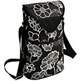 Picnic at Ascot Double Bottle Carrier, Night Bloom