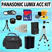 ULTIMATE ACCESSORY KIT FOR PANASONIC LUMIX DMC-FZ30 FZ50 NEW