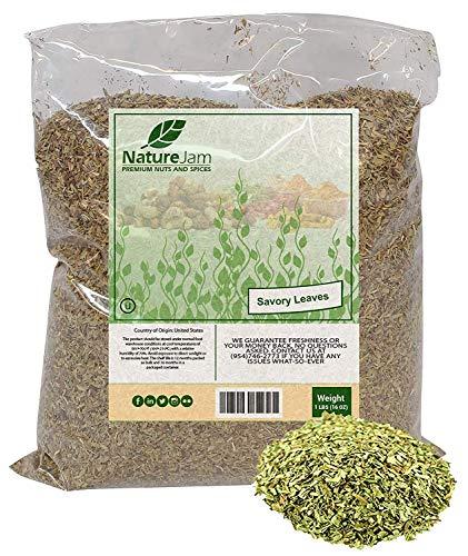 (KOSHER Savory Leaves - 1 Pound Summer Savory Herbs For Tea)
