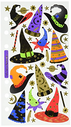 Sticko Halloween Stickers, Witch and Wizard -