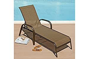 Edgewater Sling Lounge - Outdoor Living - Patio Furniture - Chaise Lounge Chairs
