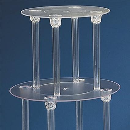 Amazon.com   4-Tier Wedding Cake Stand Divider Set: Cake Stands
