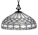 Amora Lighting Tiffany Style Hanging Pendant Lamp 18