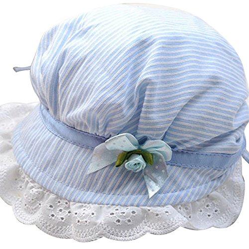 Butterfly Iron Summer Beanie Caps Baby Sun Hats Bonnet Caps Anti-UV for Newborns
